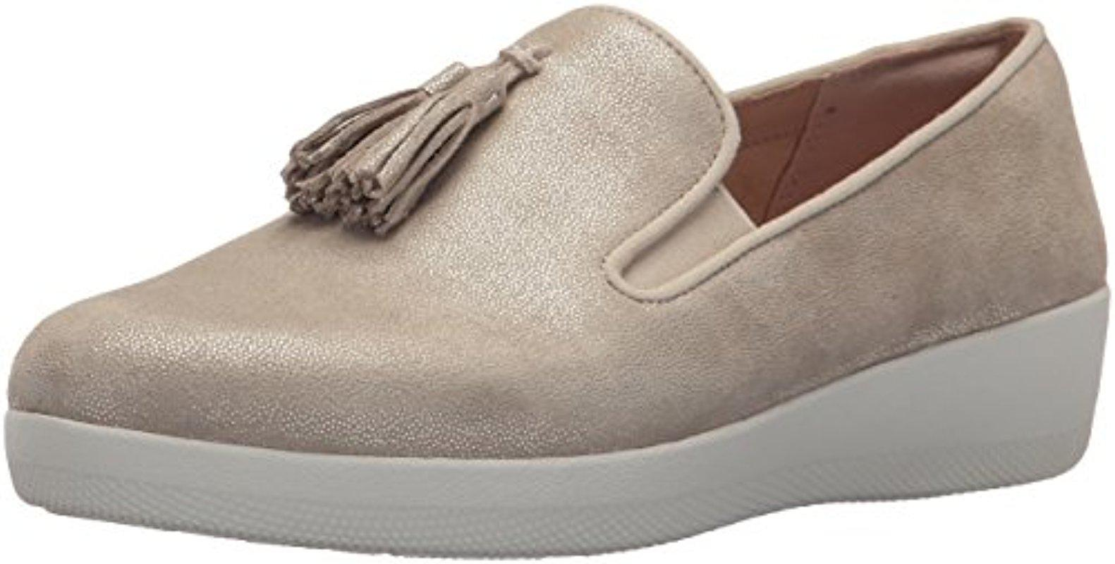 a17fb2477a11aa Fitflop. Women s Tassel Superskate Shimmer Loafer