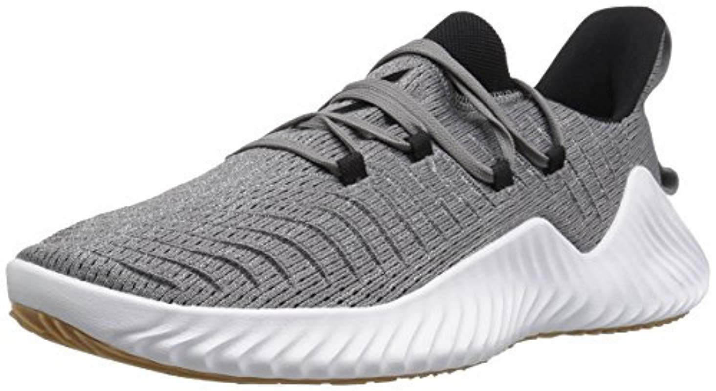 f79b573a19dfb Lyst - Adidas Originals Alphabounce Trainer Cross in Gray for Men