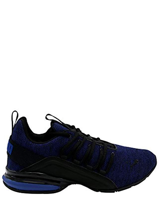 181dd7d1fdf6 ... genuine shoes 998ab 6bf37 Lyst - Puma Axelion Sneaker in Blue for Men  ...