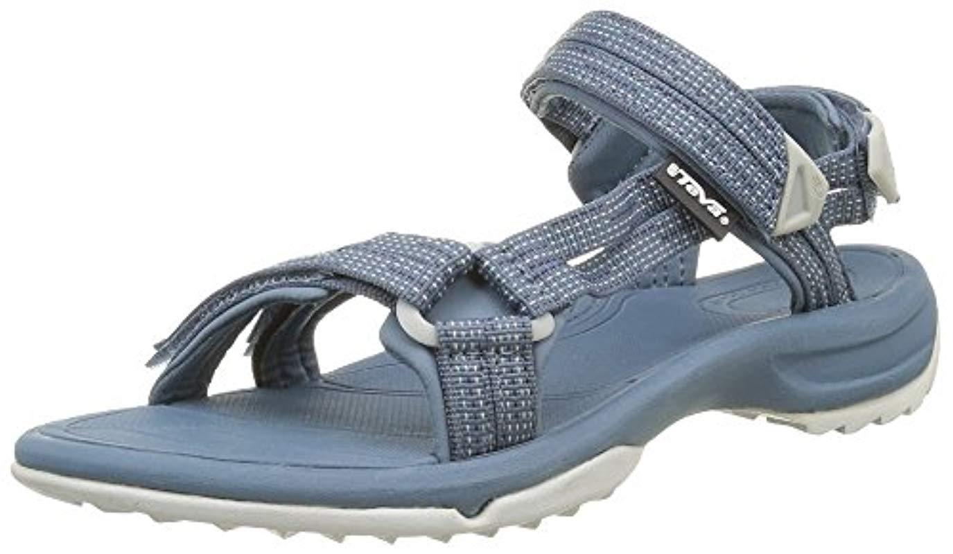6d0f349ba360e Teva Terra Fi Lite Sports And Outdoor Hiking Sandal in Blue - Lyst