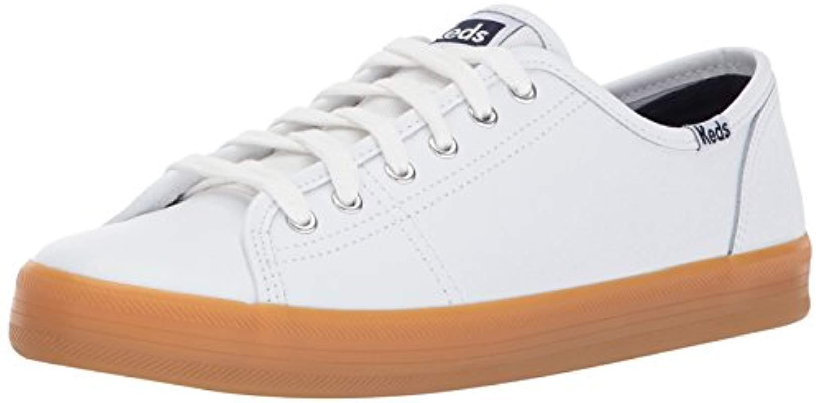 814239b7c3e Lyst - Keds Kickstart Cny Leather in White