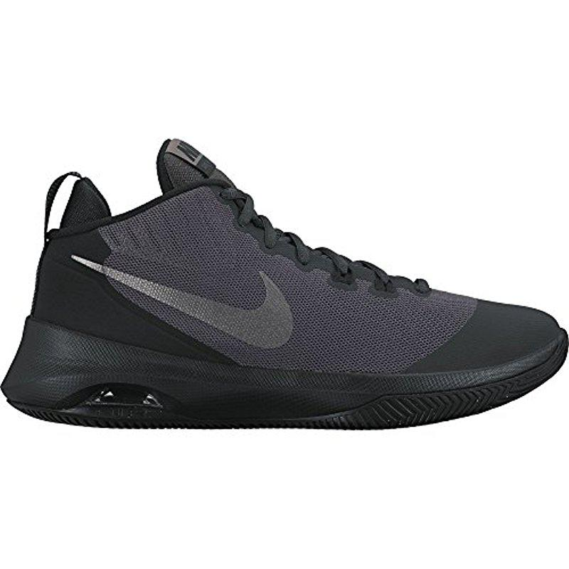 Nike. Men's Gray Air Versitile Nubuck Basketball Shoes