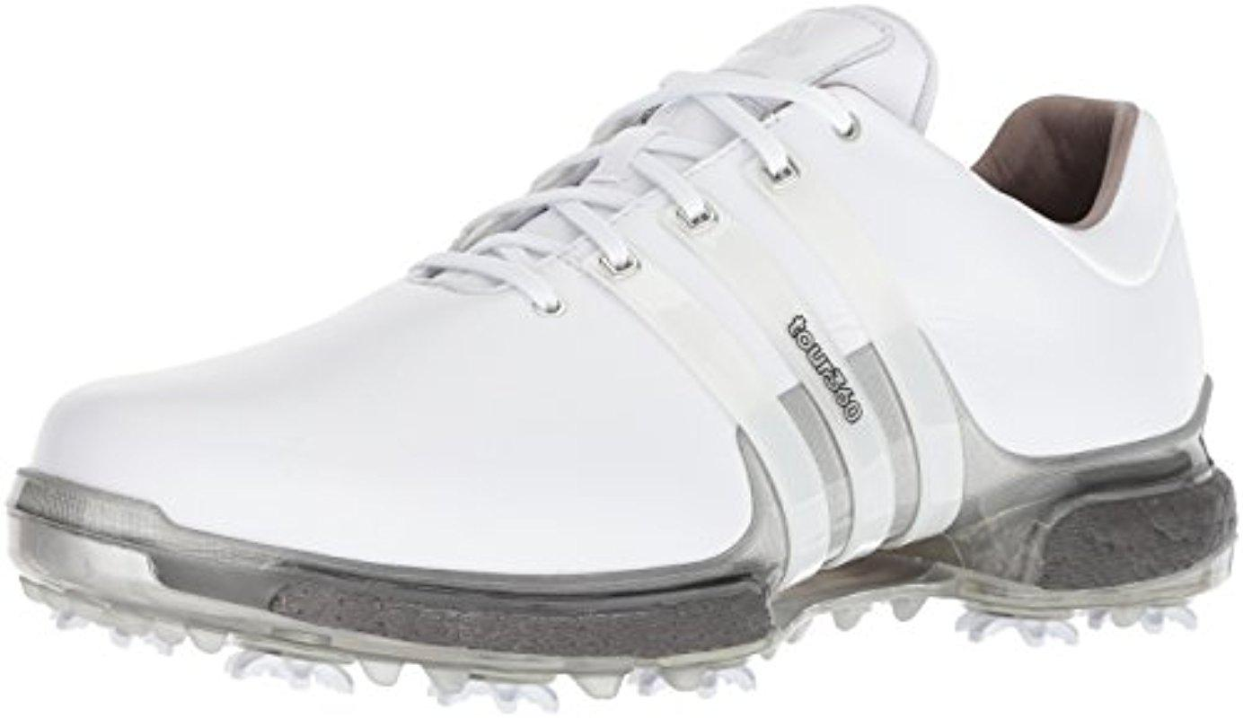 f45202a2d Lyst - adidas Tour 360 Boost 2.0 Golf Shoe in White for Men