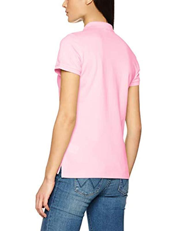 4f39f737c460b4 GANT The The Original Pique Polo Shirt in Pink - Lyst