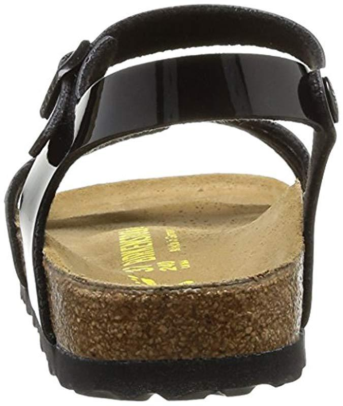 d37a05266c2c Birkenstock Bali Narrow Fit Fashion Sandals in Black - Lyst