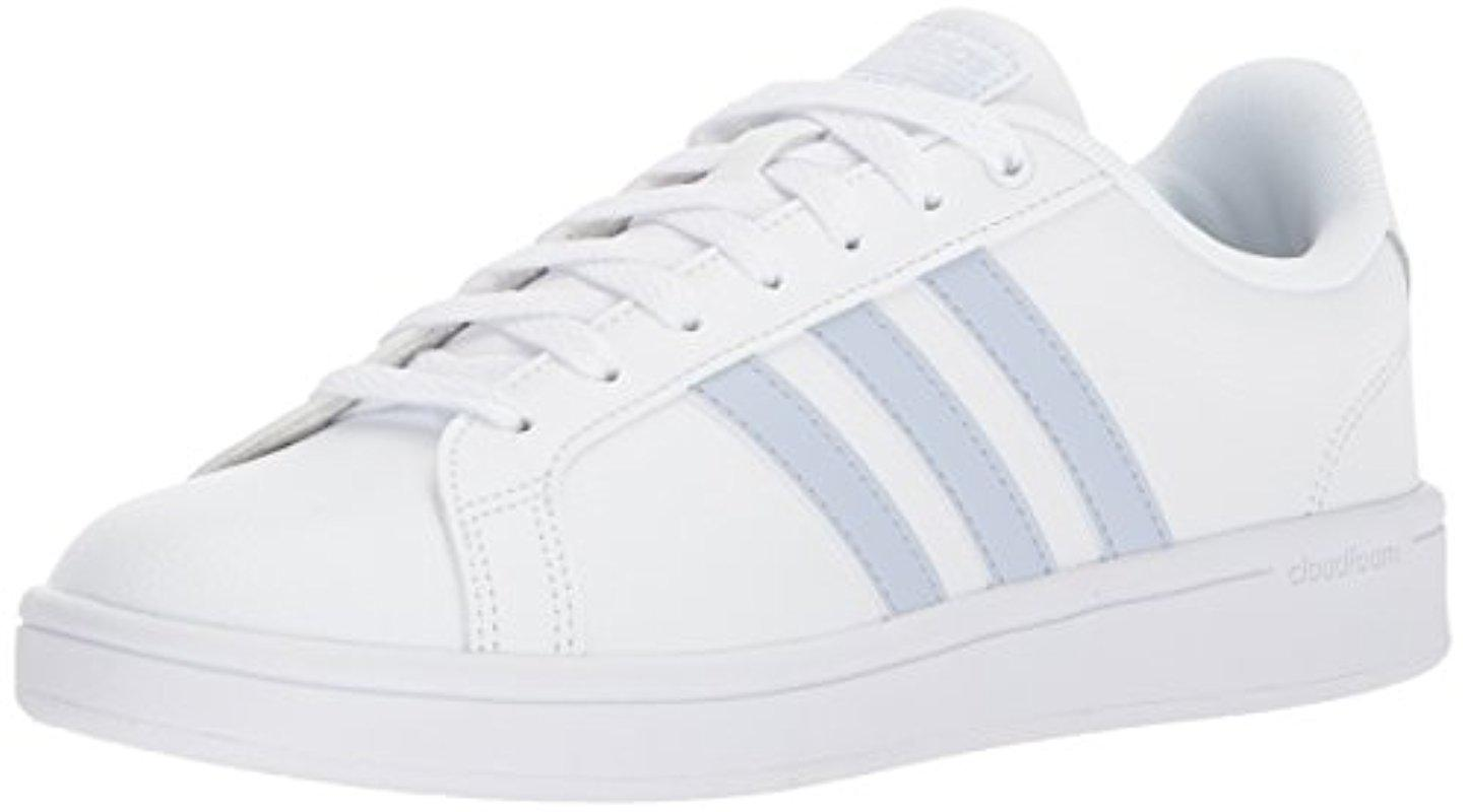 8f7d8ee05f8 Lyst - adidas Cloudfoam Advantage Fashion Sneaker in White