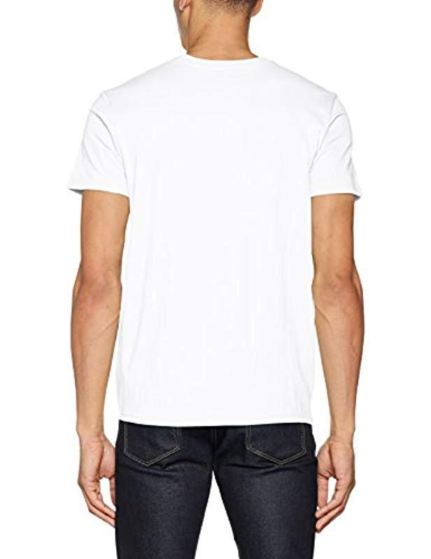 78b553587a5ad Billabong Inverse Tee Ss T-shirt in White for Men - Lyst