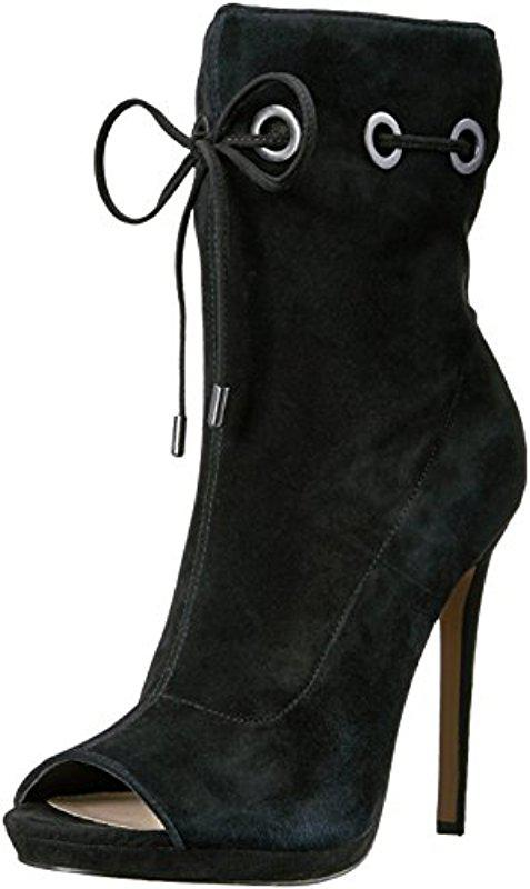 c7ec972ef7d Lyst - Steve Madden Cavalier Ankle Bootie in Black