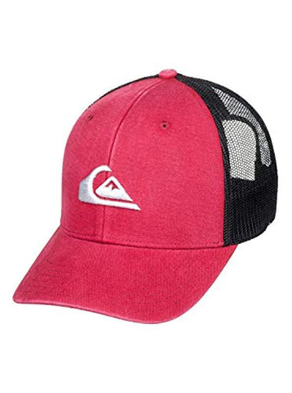 9db0b05f Lyst - Quiksilver Grounder Trucker Hat for Men