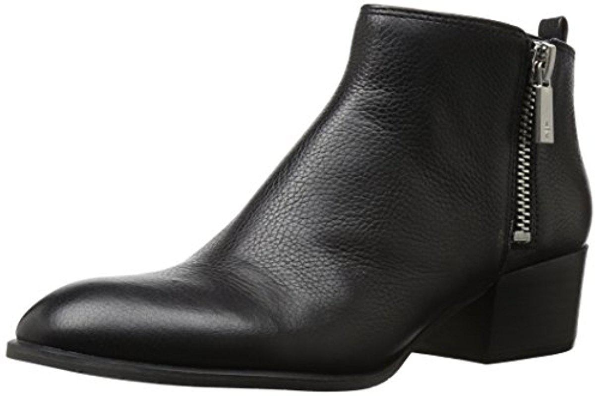 Women's 7 Addy Low Bootie With Double Zip Sides Ankle Boot