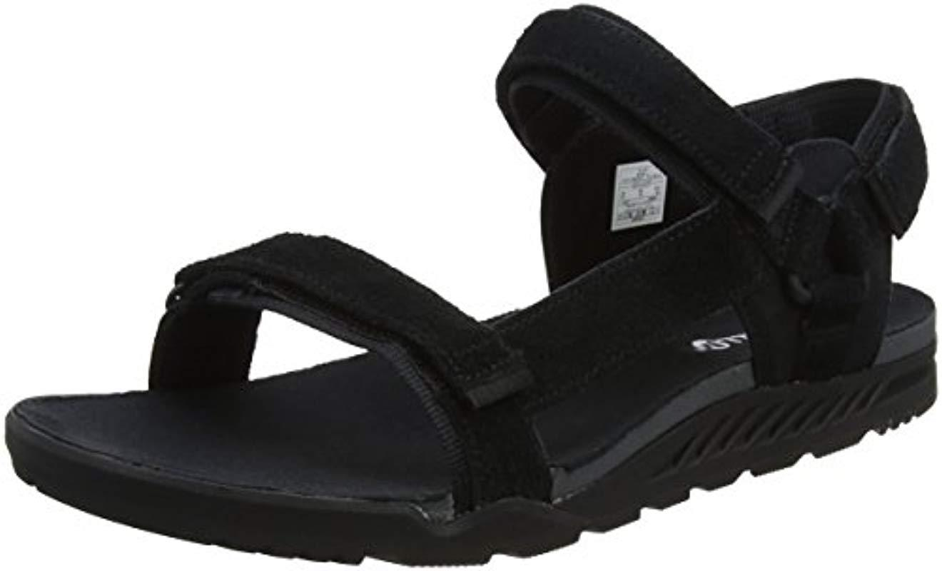 91b732bccedf Merrell  s Burnt Rock Anders Strap Open Toe Sandals in Black for Men ...