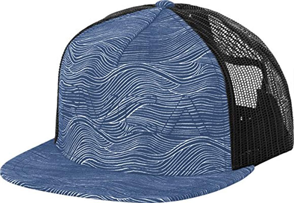 09f1658989dd2 ... shop rvca. womens blue sameness trucker hat bab3f 9e32e