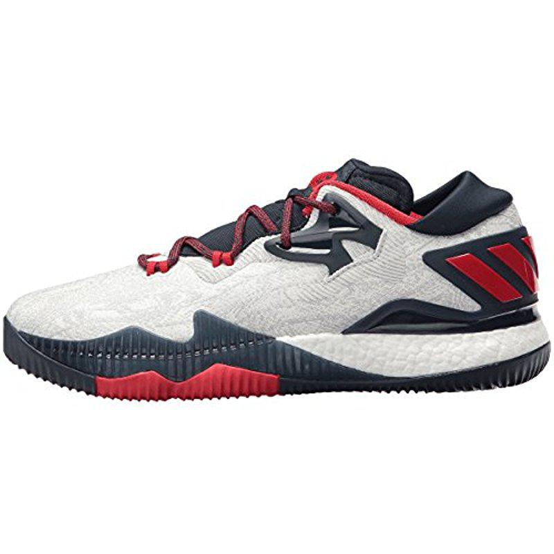 20a9954291c7 ... germany adidas multicolor performance crazylight boost low 2016 basketball  shoe for men lyst. view fullscreen
