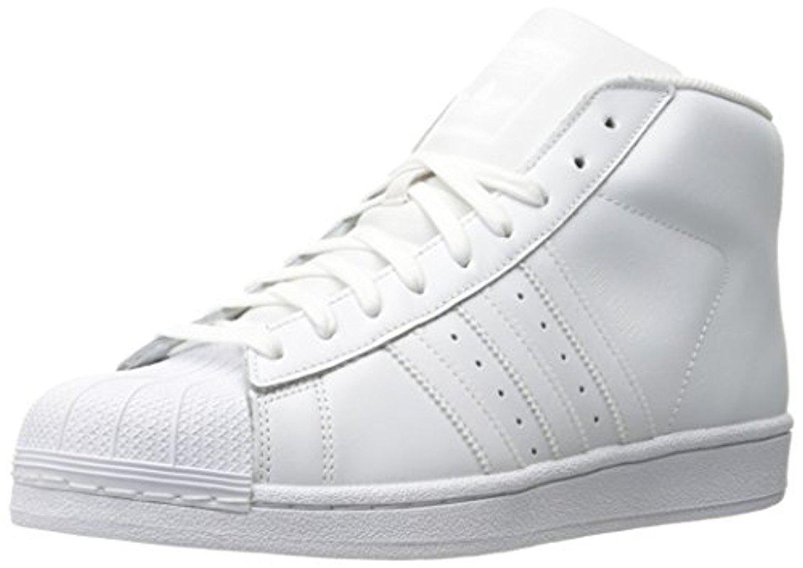 lyst adidas originali (modello scarpe in bianco per gli uomini.