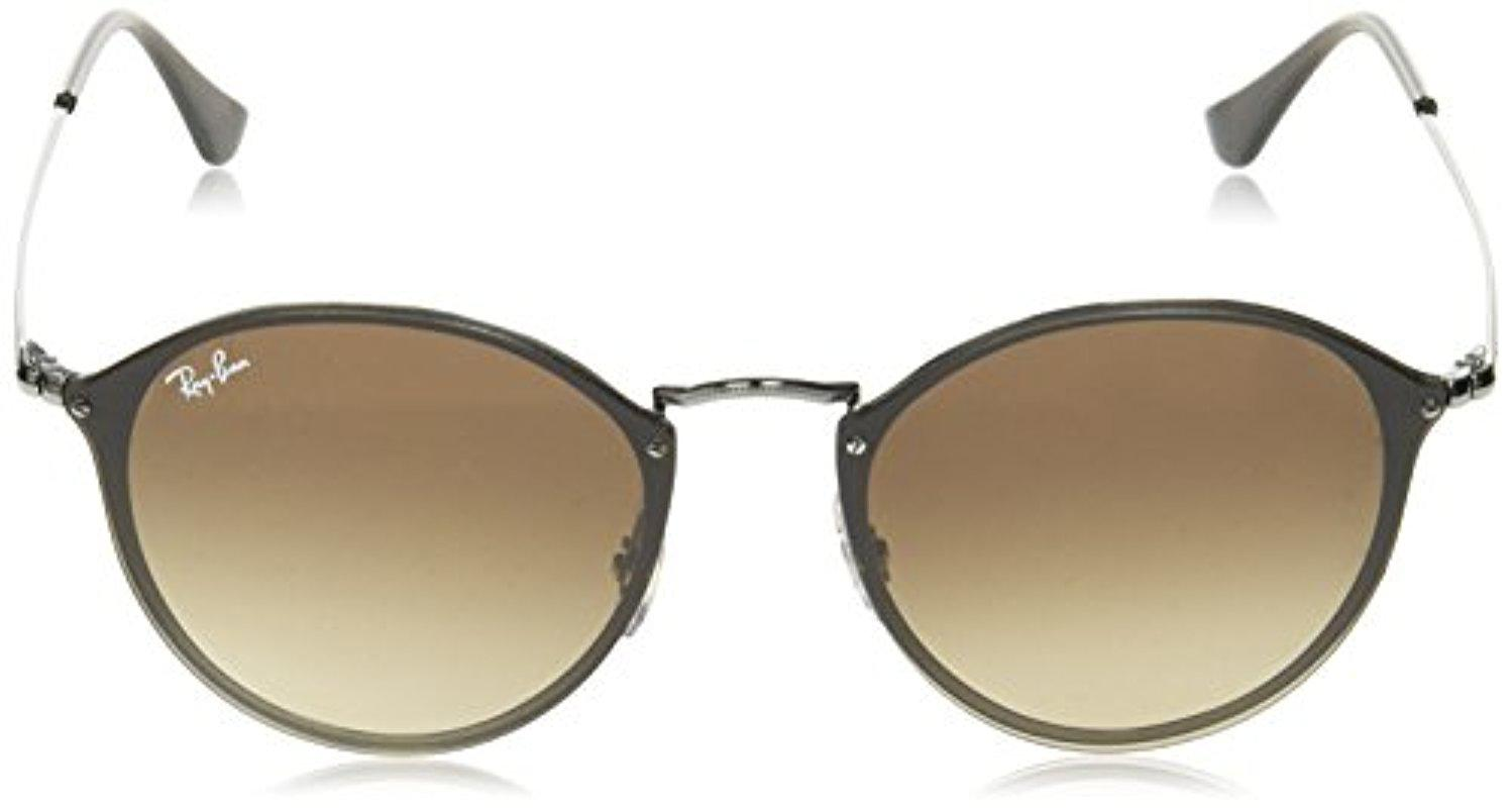 259498557a2 Lyst - Ray-Ban Rb3574n Blaze Round Sunglasses - Save 20%