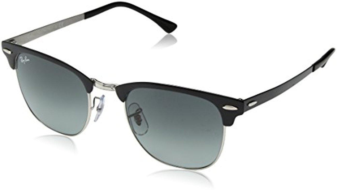 f0313d9b292 Lyst - Ray-Ban Metal Unisex Square Sunglasses