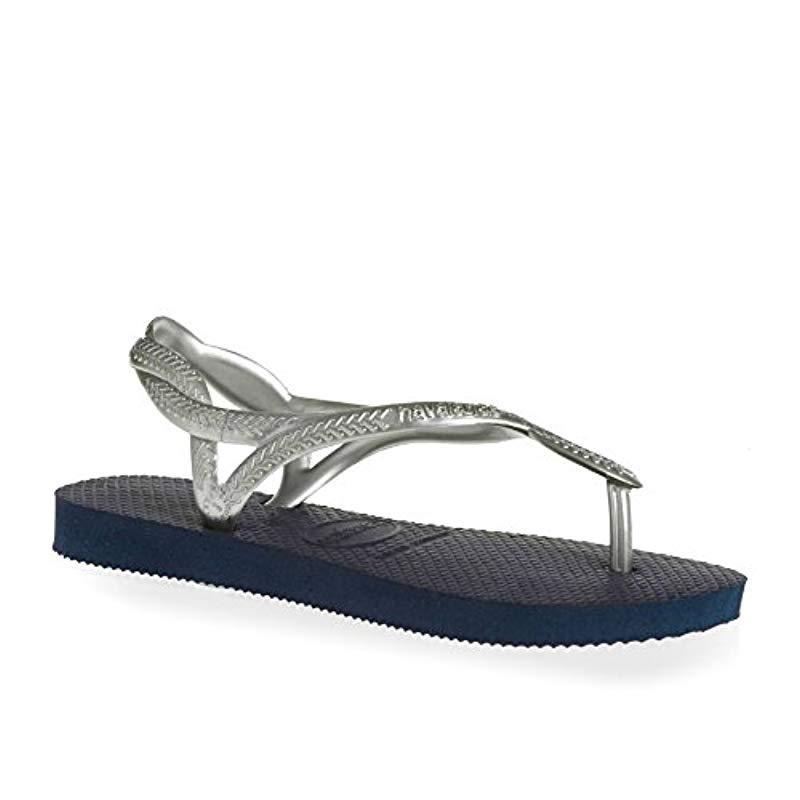 a7ac24a6d2969 Havaianas Luna Sandals in Blue - Lyst
