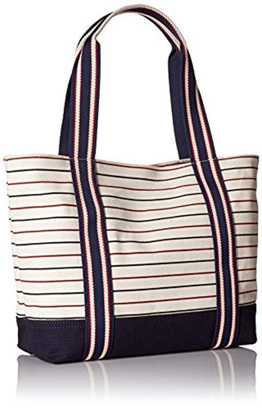 bad00416ffb2a Lyst - Tommy Hilfiger Bag For Canvas Item Shopper - Save 22%