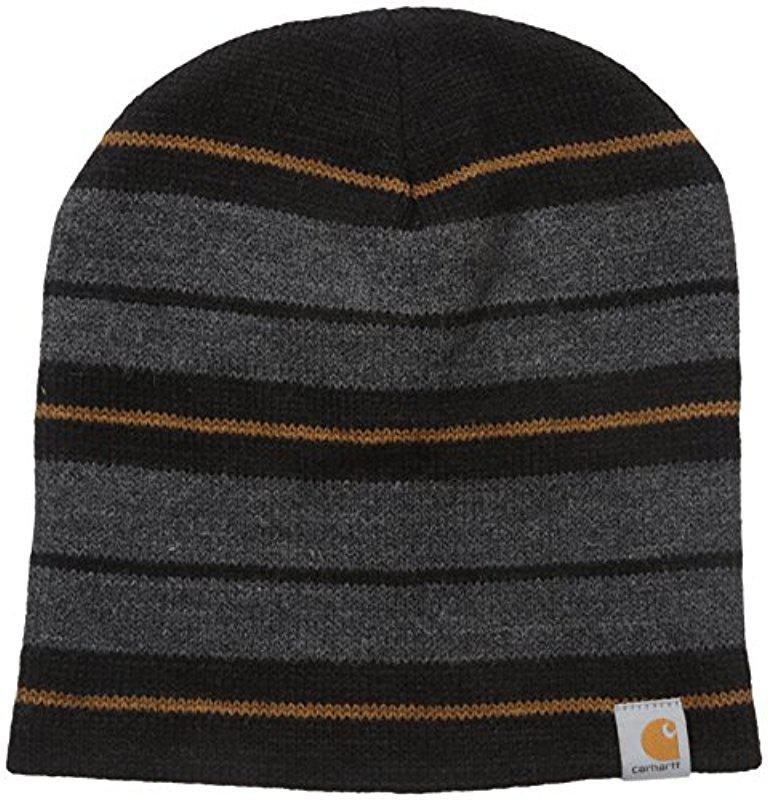 99e7860f368 Lyst - Carhartt Malone Hat in Black for Men - Save 8%
