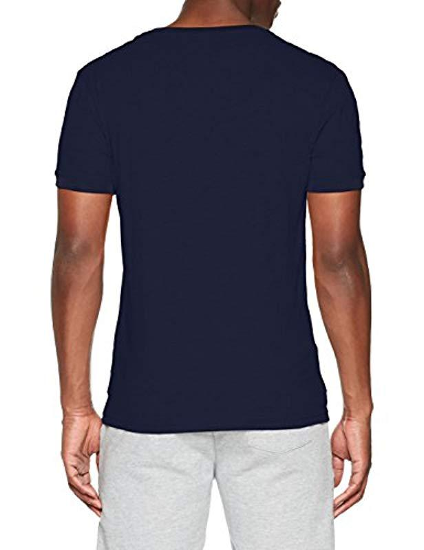 5a587deaddb1 Tommy Hilfiger Rn Tee Ss T-shirt in Blue for Men - Lyst