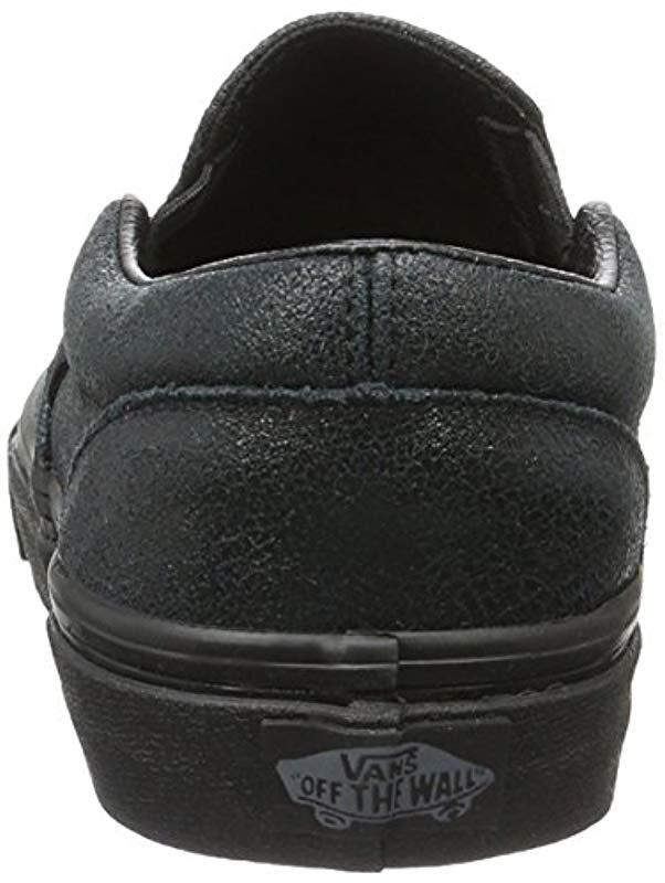 bc7486c7cecc75 Vans Unisex Adults  Classic Slip-on Low-top Sneakers in Black for Men - Lyst