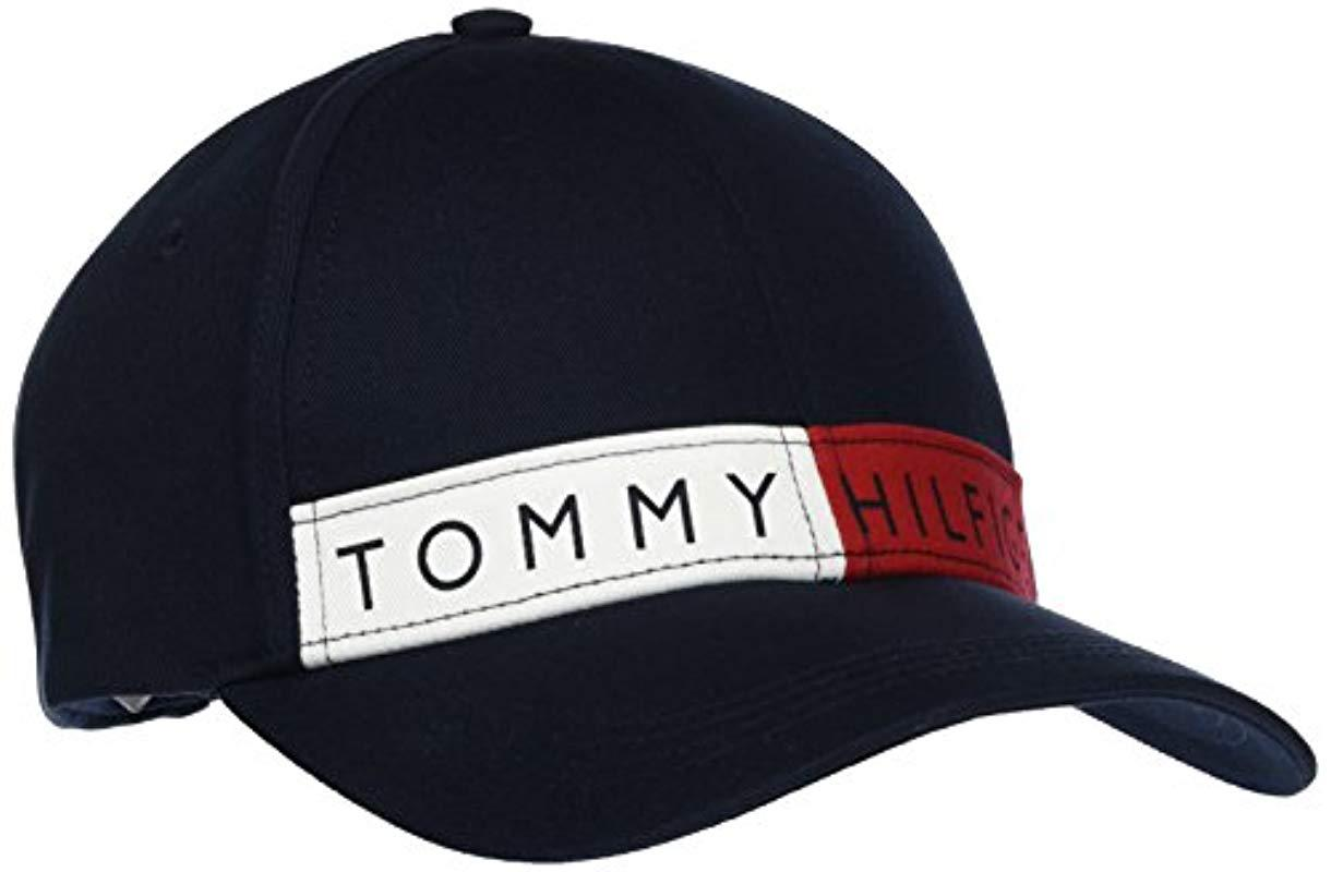 Tommy Hilfiger Logo Flag Cap M Baseball 569e1a61eb3a