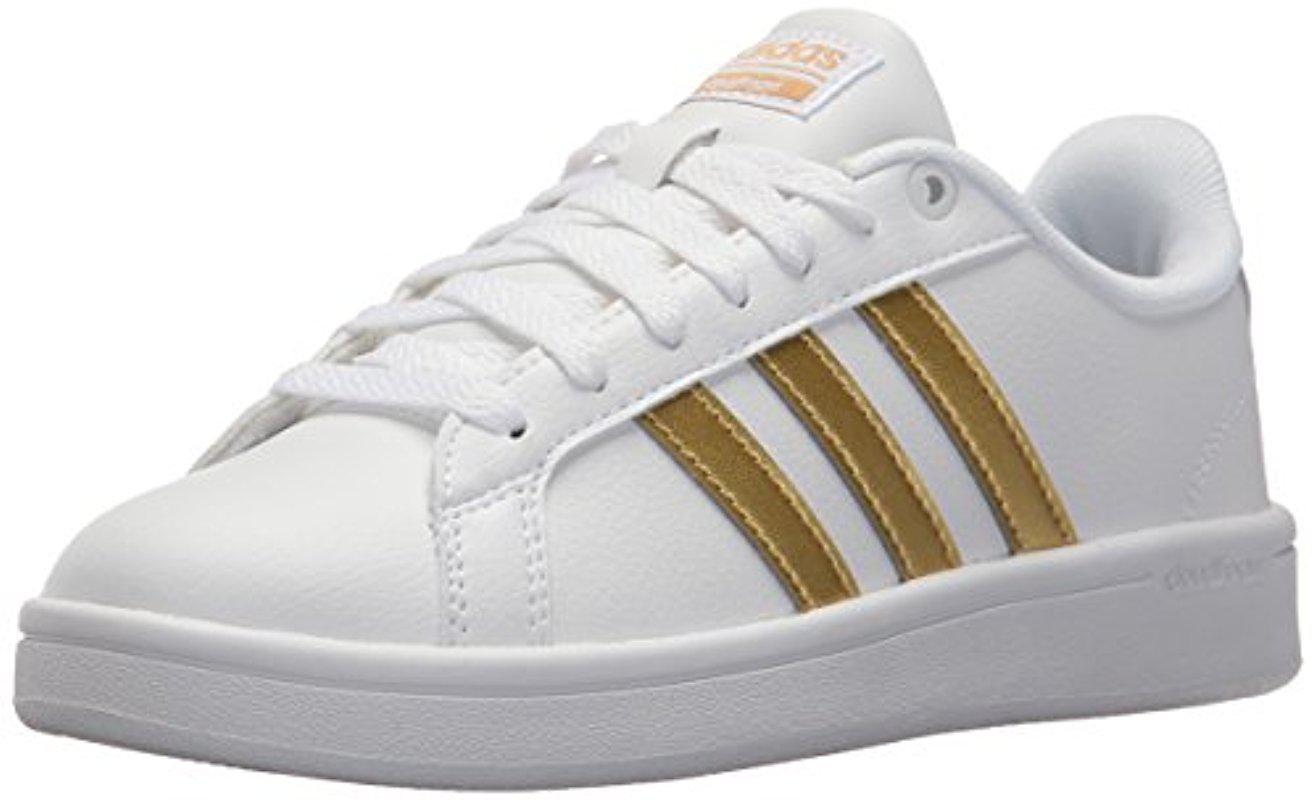new product 2b562 de1a7 Lyst - Adidas S Cloudfoam Advantage W Fashion Sneaker, White