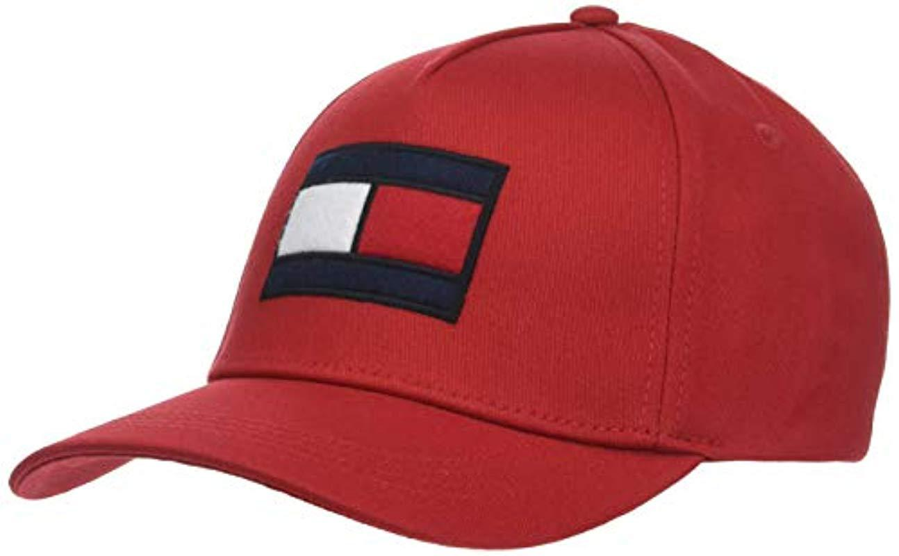 cce29f0588fea Tommy Hilfiger Spw Flag Baseball Cap in Red for Men - Lyst