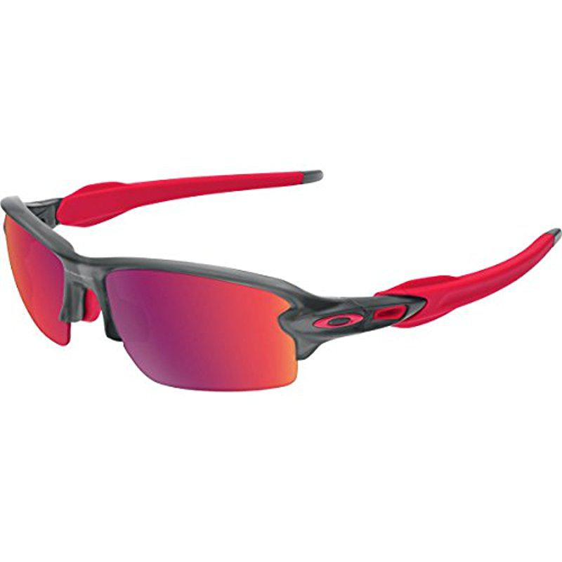 262bf70a6e Lyst - Oakley Flak 2.0 Asian Fit Oo9271-06 Rectangular Sunglasses in ...