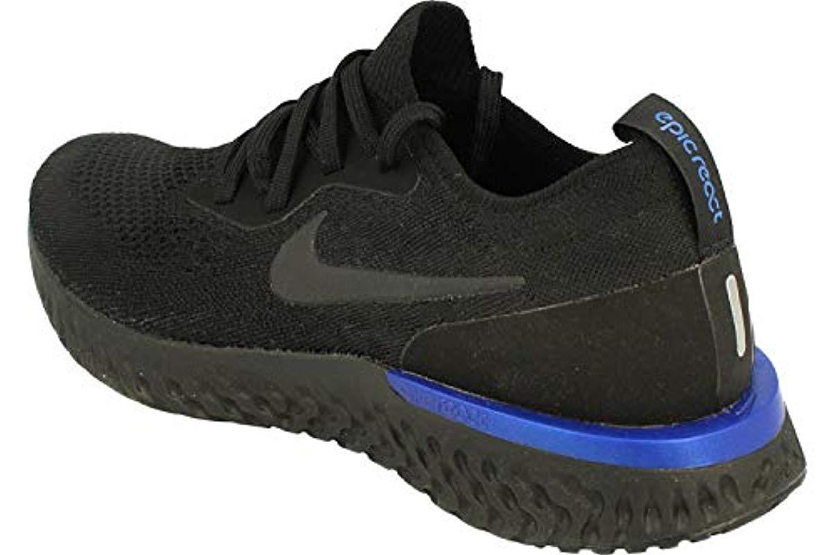 a8c867cad0011 Nike Epic React Flyknit Fitness Shoes in Black for Men - Save 1% - Lyst