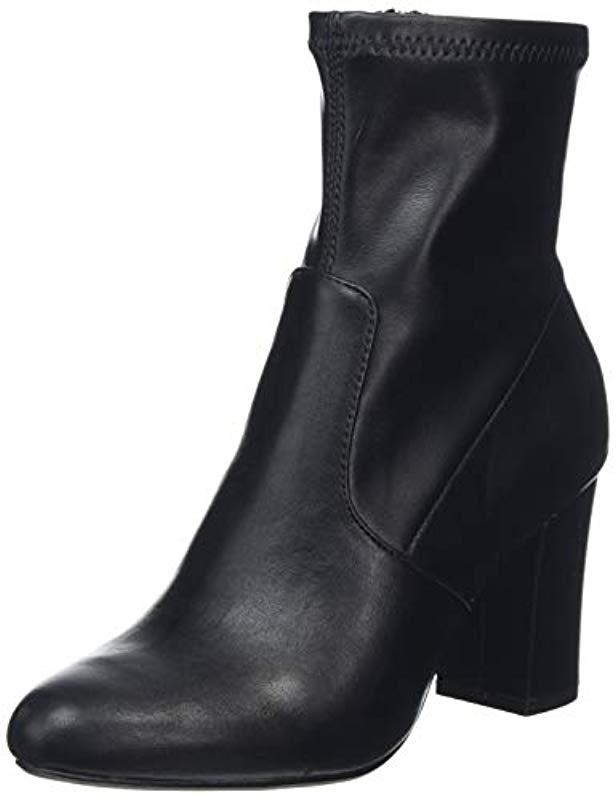 ad4e8b8d893 Steve Madden  s Actual Ankle Boot in Black - Lyst