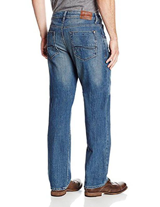 fa5d8127 Lyst - Lee Jeans Modern Series Straight Fit Jean in Blue for Men