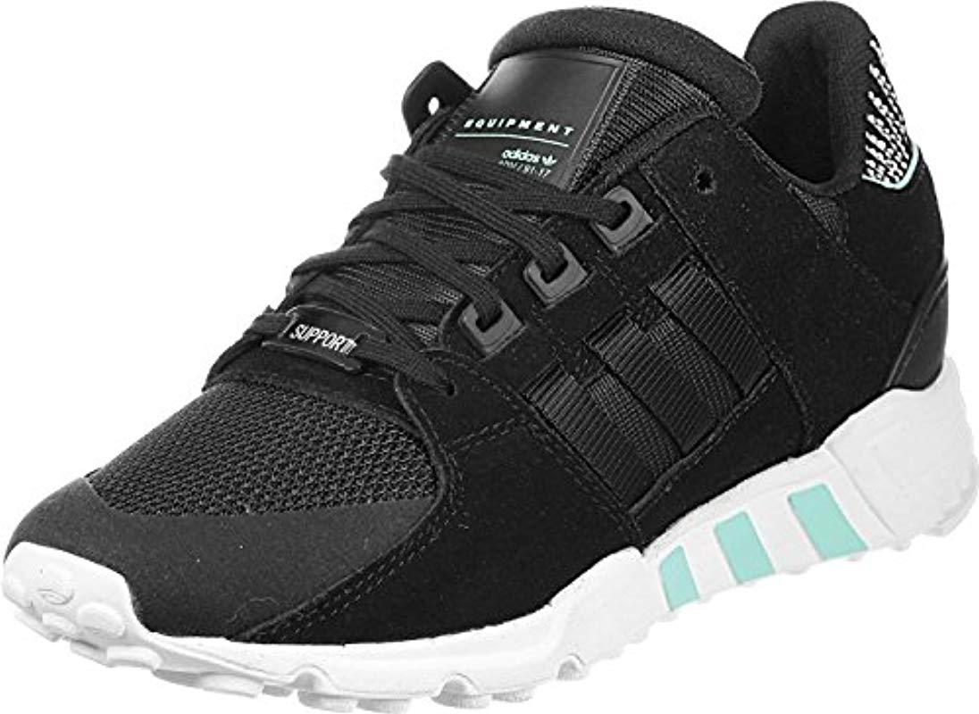 big sale f7d68 e82be adidas. Womens Eqt Support Rf Low-top Trainers Black ...
