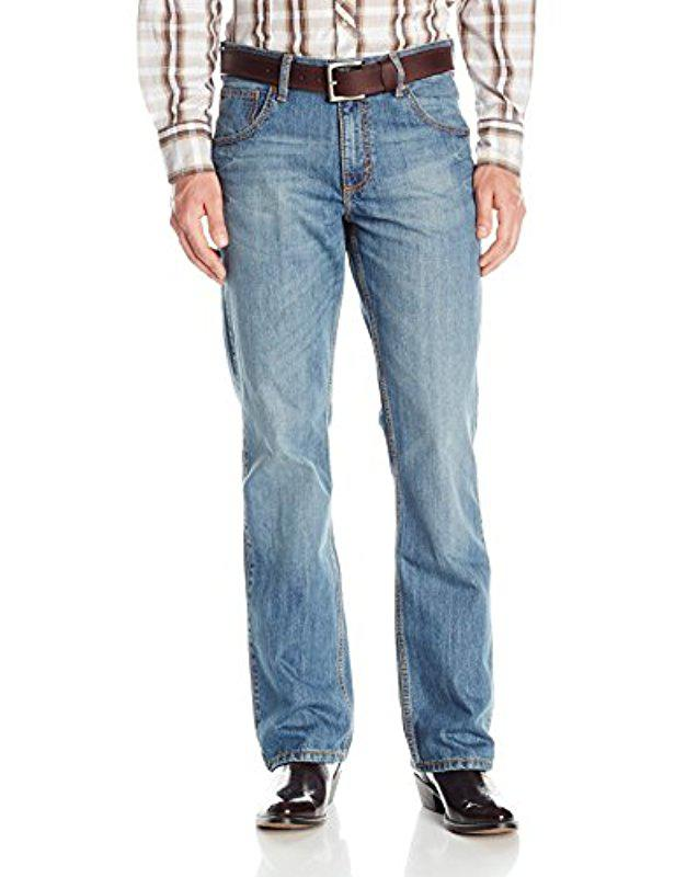 b176fb19 Lyst - Wrangler Retro Relaxed Fit Boot Cut Jean in Blue for Men ...
