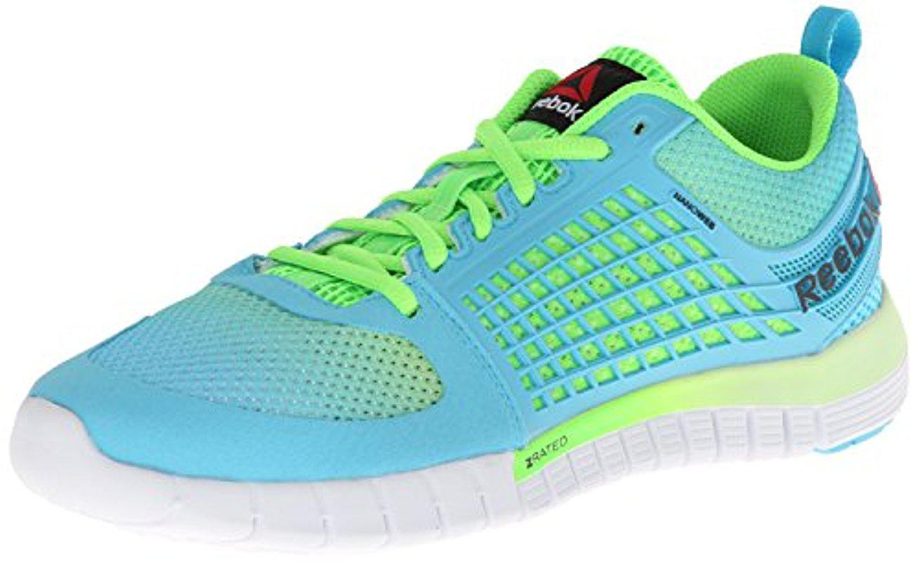 d7d2090321e Lyst - Reebok Zquick 2.0 Running Shoe in Green