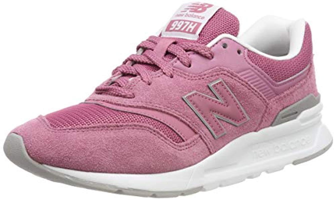 Women's Pink 997h V1 Trainer