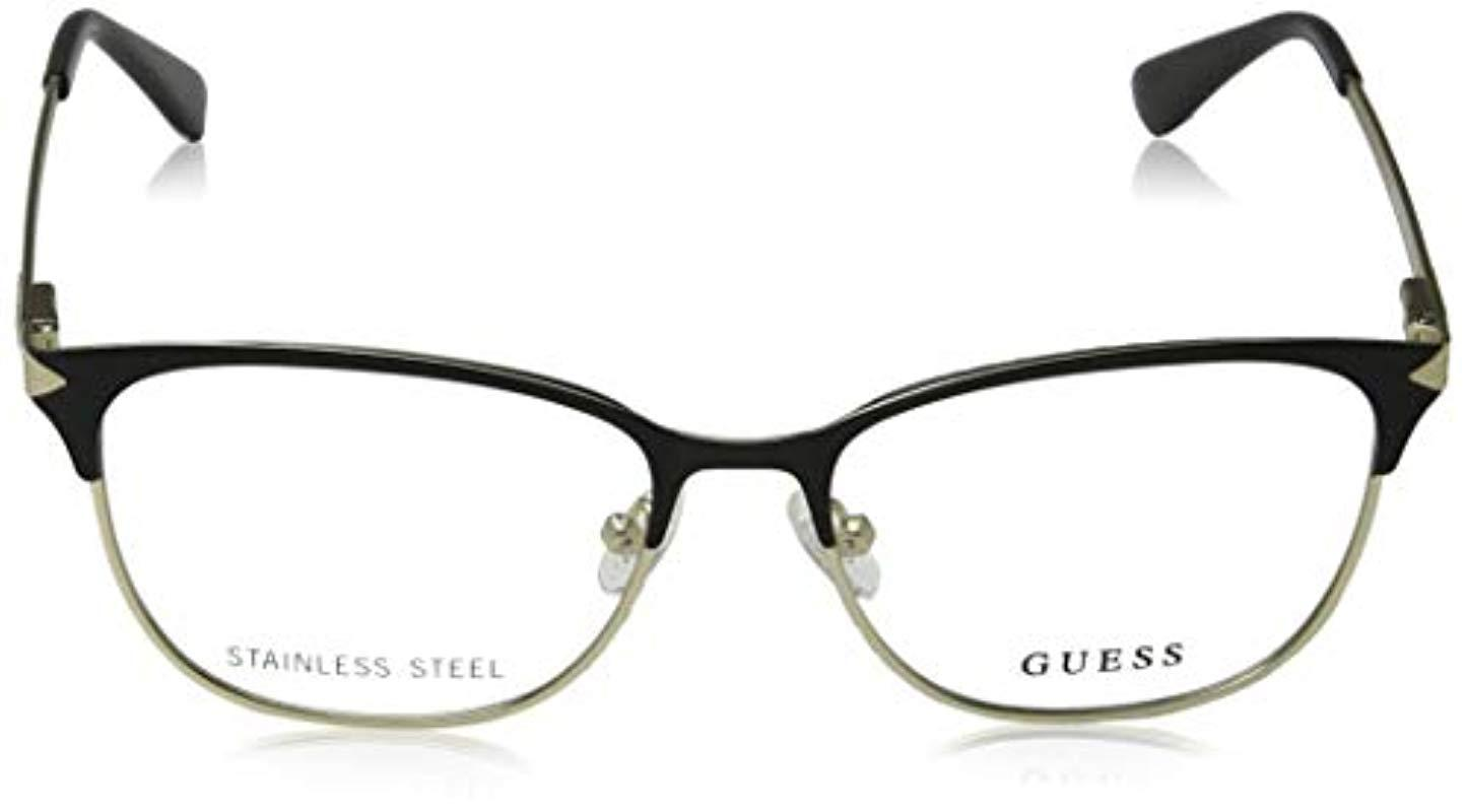 6932b1b41e Guess Unisex s Gu2638 002 54 Optical Frames