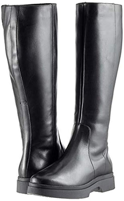 Geox D Myluse F High Boots in Black Save 27% Lyst