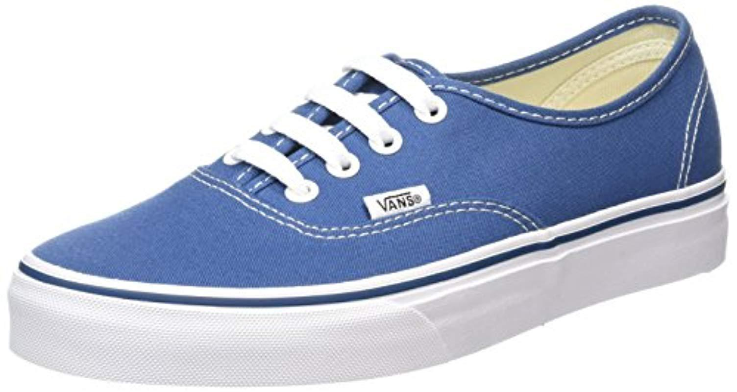 Vans Unisex Adults  Authentic Classic Trainers in Blue - Lyst 568a2e96b