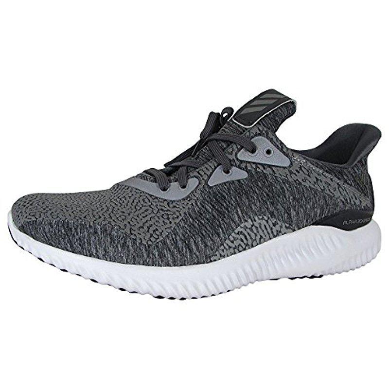 lyst adidas alphabounce hpc ams m scarpa da corsa in grigio per gli uomini.