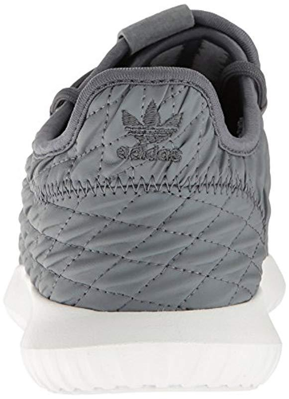 more photos bde57 ce297 Adidas Originals - Gray Tubular Shadow Fashion Running Shoe - Lyst. View  fullscreen