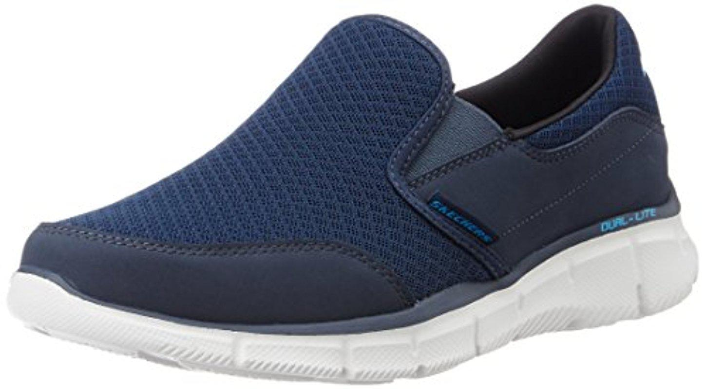 Skechers. Men's Blue Sport Equalizer Persistent Slip-on Sneaker