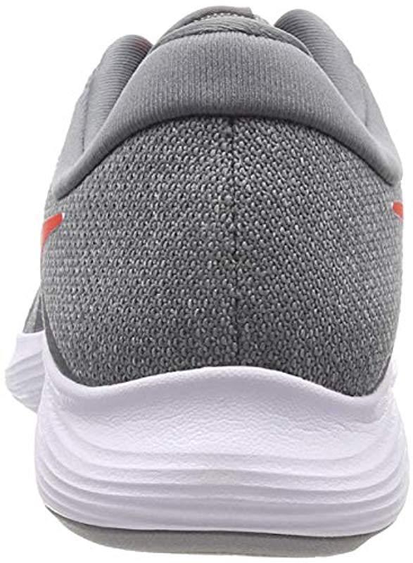 cc0d9449936 Nike - Gray Revolution 4 Eu Training Shoes for Men - Lyst. View fullscreen