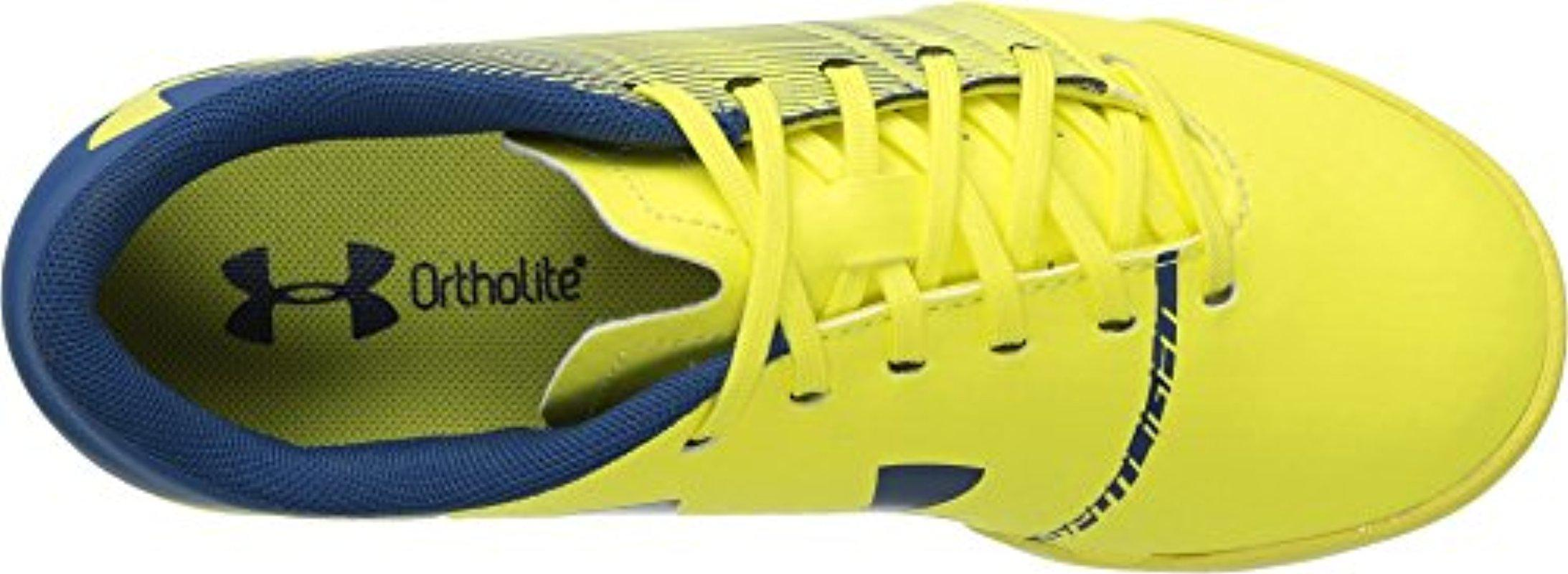 hot sales 78e45 33730 Lyst - Under Armour Kids' Spotlight Turf Jr. in Yellow for Men