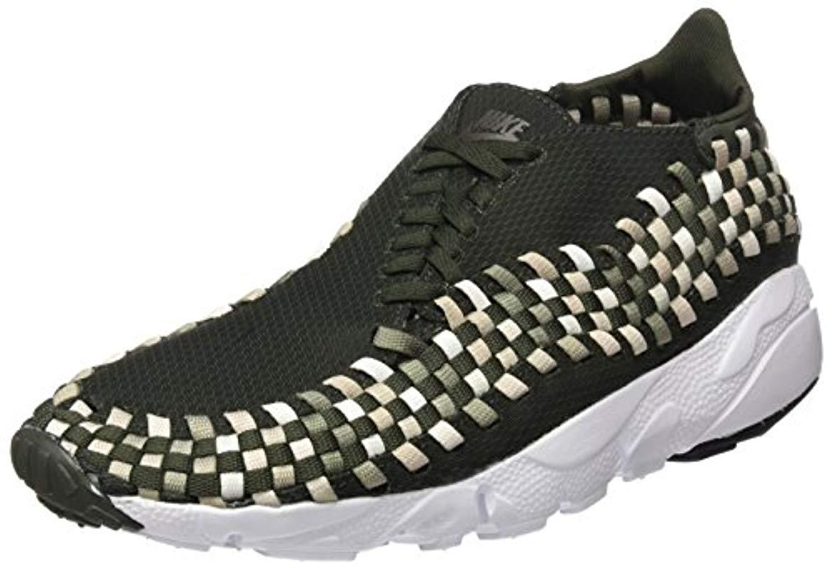 best service aca54 08d4f Nike. Mens Green s Air Footscape Woven Nm Gymnastics Shoes