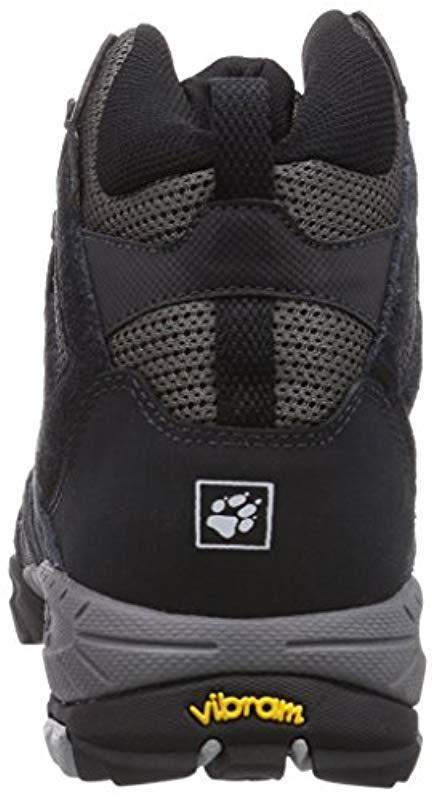 size 40 05f52 d3348 Jack Wolfskin Volcano Mid Texapore, 's Hiking Boots in Gray ...