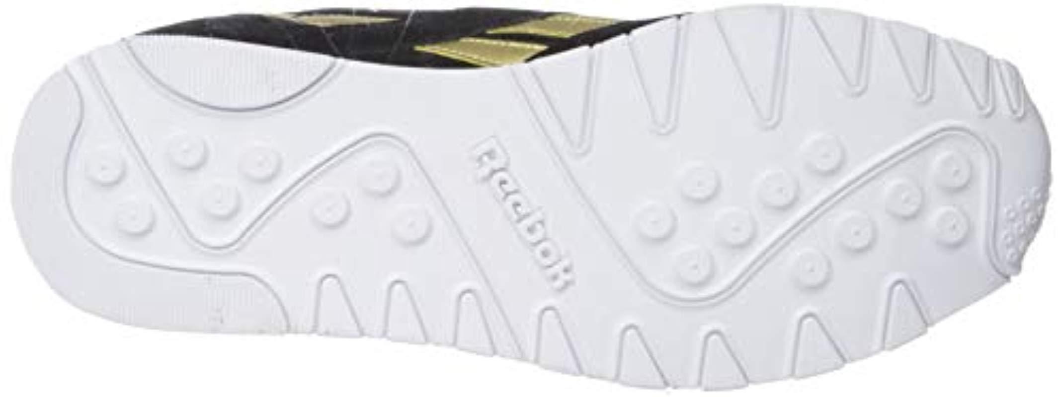 9988a18088d Lyst - Reebok Classic Nylon Sneaker in Black for Men