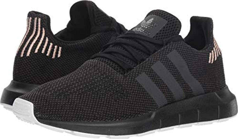 buy popular 4a24b 9f141 adidas Originals Swift Running Shoe, Black carbon white, 8.5 M Us in ...