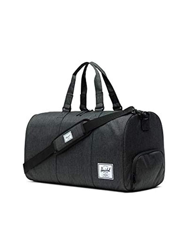 ed0f2615fd4f Lyst - Herschel Supply Co. Novel Duffle Bag in Black