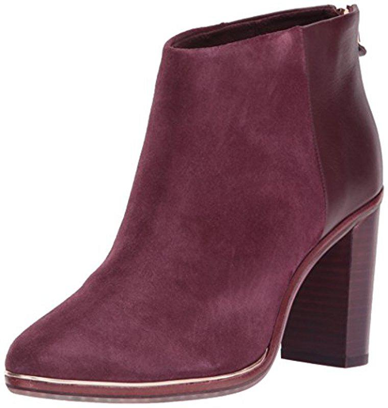 Visit New Cheap Price Drop Shipping Ted Baker Women's Qatena Suede Heeled Ankle Boots 6b0ATB
